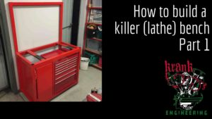 How to build a killer lathe bench part 1
