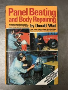 Panel Beating & Body Repairing book