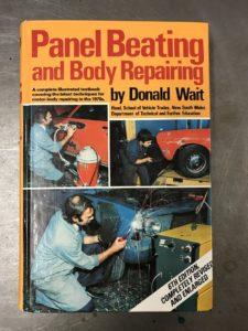 Panel Beating & Body Repairing book