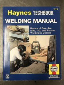 Haynes Welding Manual book