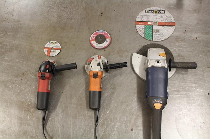 4-5-9 inch grinders