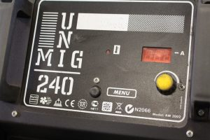 MIG wire feed speed control