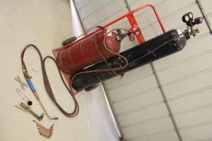 Oxy-acetylene welding equipment