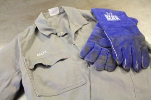 Protective clothing and gloves