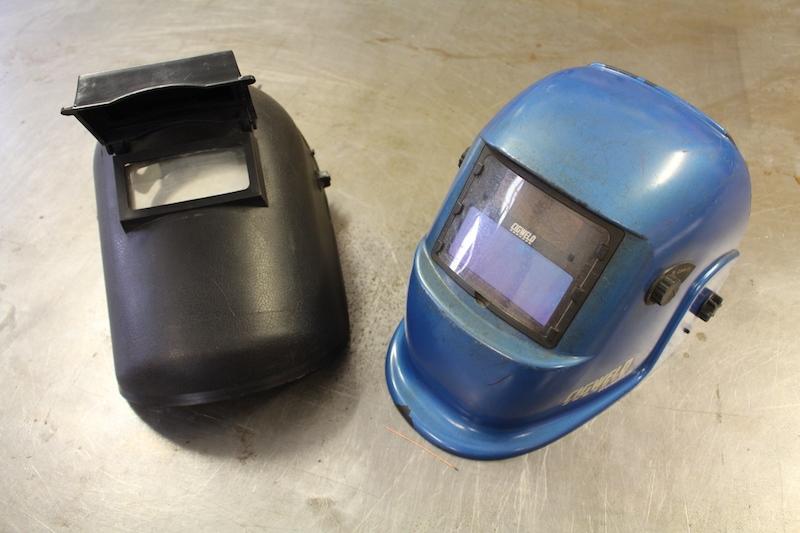 Protective welding helmets