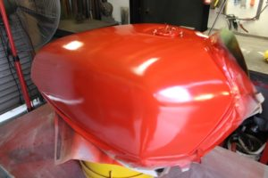 Preliminary coat of red