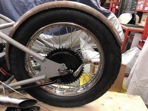 Re-radiusing a fender