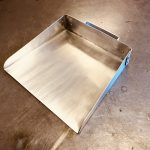(1) Shop-built dustpan