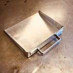 (2) Shop-built dustpan