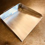 (4) Shop-built dustpan