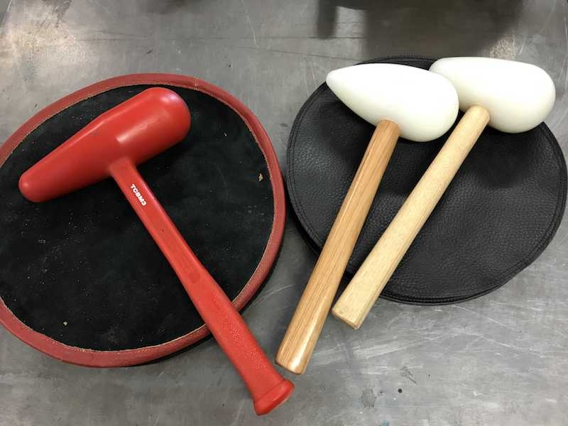 Beater bags and mallets 3